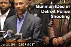 Lamar Moore IDed as Gunman in Detroit Police Shooting