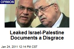Leaked Israel-Palestine Documents a Disgrace