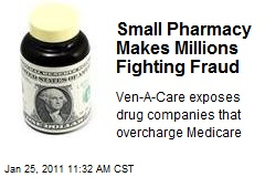 Small Pharmacy Makes Millions Fighting Fraud