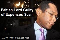 British Lord Guilty of Expenses Scam
