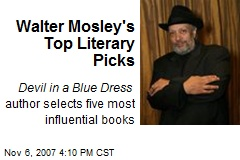 critical analysis of walter mosley Talking back through 'talking black': african american english and agency in walter mosley's devil in a blue dress.