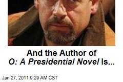 'O: A Presidential Novel' Written By ... Mark Salter!