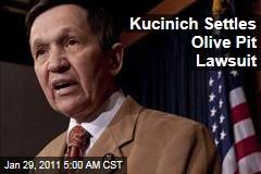 Kucinich Settles Olive Pit Lawsuit