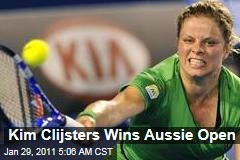 Kim Clijsters Wins Aussie Open