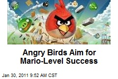 Angry Birds Aim for Mario-Level Success