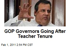 GOP Governors Going After Teacher Tenure
