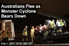 Australians Flee as Monster Cyclone Bears Down