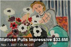 Matisse Pulls Impressive $33.6M