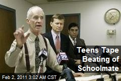 Teens Tape Beating of Schoolmate