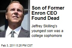 Son of Former Enron CEO Found Dead
