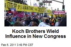 Koch Brothers Wield Influence in New Congress