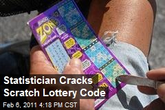 Statistician Cracks Lottery Scratch Ticket Code