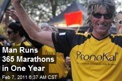 Man Runs 365 Marathons in One Year