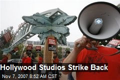 Hollywood Studios Strike Back