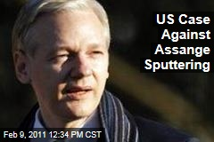 US Case Against Assange Sputtering