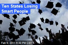 Ten States That Are Losing Smart People