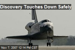Discovery Touches Down Safely