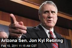 Arizona Sen. Jon Kyl Retiring