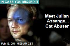 Julian Assange, Cat Abuser? Ex-WikiLeaker Daniel Domscheit-Berg Claims So in His Book, 'Inside WikiLeaks'
