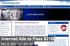 Internet Ads to Pass $21B