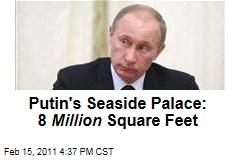Putin Built $1B Seaside Palace