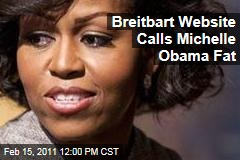 Andrew Breitbart's Big Government Website Calls Michelle Obama Fat in Political Cartoon