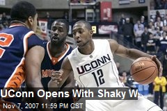 UConn Opens With Shaky W