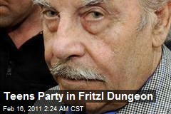 Teens Party in Fritzl Dungeon