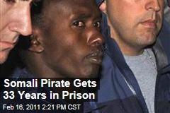 Somali Pirate Abdiwali Abdiqadir Muse Gets 33-Year Sentence in Hijacking