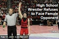 Cassy Herkelman Wins High School Wrestling Meet in Iowa by Default