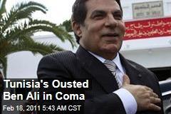 Zine El Abidine Ben Ali Has Stroke, Tunisia's Ousted Strongman Reportedly in Coma