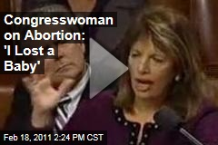 Jackie Speier on Abortion: 'I Lost a Baby!'