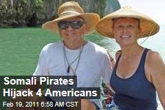 Somali Pirates Hijack Yacht Quest With Four Americans Aboard