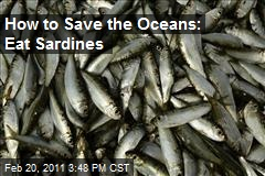 How to Save the Oceans: Eat Sardines