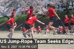 US Jump-Rope Team Seeks Edge