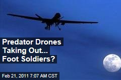 Unmanned Predator Drone Strikes Increasing, But Most of Those Killed Are Low-Level Militants