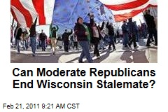 Wisconsin Protests: Moderate Republican Proposal Calls for Collective Bargaining to Be Cut, But Reinstated in 2013
