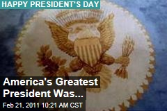 Happy Presidents Day: Ronald Reagan Was America's Greatest President, Says Gallup Poll