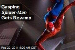 Gasping Spider-Man Gets Revamp
