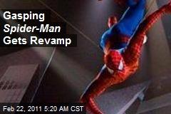 Gasping Spider-Man Gets Revamp