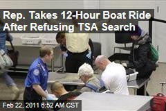 Alaska Rep. Sharon Cissna Takes 12-Hour Boat Ride After Rejecting TSA Search