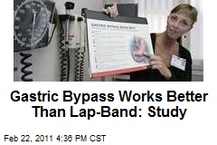 Gastric Bypass Works Better Than Lap-Band: Study
