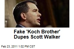 Buffalo Beast Impersonates David Koch, Dupes Wisconsin Governor Scott Walker in Prank Call