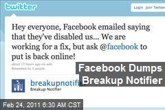 Facebook Dumps Breakup Notifier