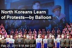 Jasmine Revolution Spreading to North Korea?
