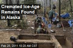 Cremated Ice-Age Remains Found in Alaska
