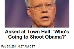Asked at Paul Broun Town Hall Meeting: 'Who's Going to Shoot Obama?'