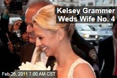 Kelsey Grammer, Kayte Walsh Married: Couple Marries on Broadway Just Weeks After Grammer's Divorce Is Finalized