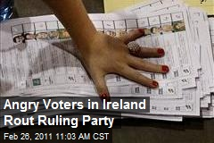 Angry Voters in Ireland Rout Ruling Party