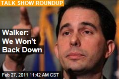 Scott Walker on Collective Bargaining: We Won't Back Down